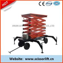 Mobile Scissor Lift Manufacturer