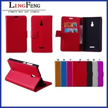 mobile phone accessories factory in china wholesale leather flip phone case for nokia xl