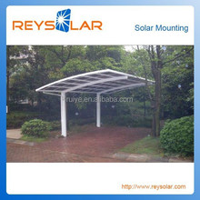 Solar Panel Mounting Bracker Carport/ Aluminum Galvanized Steel Stable Car Shed