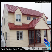 Prefabricated modern house design light steel structure house, light steel villa