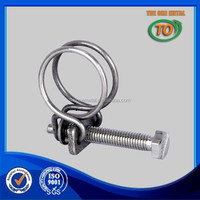 stainless steel double wire rope clamp