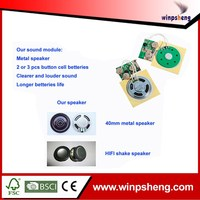 Hot Sell Small Voice Record Device For Korea Wedding Card