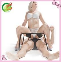 Hot sell Fantasy Sex Swing bondage High Quality Black Love Aid / Fetish / Bondage leather Swing, Sling Pillow, Sex Toys