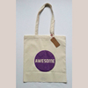Natural Cotton Tote Bag Personalized With Initials