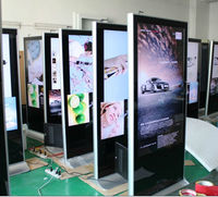 """55"""" stand alone lcd digital display,publicidad digital for advertising"""