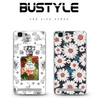 BUStyle excellent quality kindly flower pattern tpu phone case for VIVO X5MAX