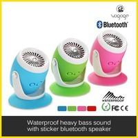 2015 New Design Drum bluetooth portable speaker with usb port with suction cup