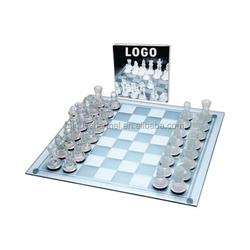 New Product Promo Cheap Glass Chess Set