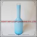 mobiliário home garrafa de vidro decorativo atacado chinês azul vasos