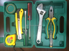 Novelty mini hand tool set, 8pcs household tool set for sale