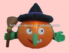 150cm Halloween inflatable pirate pumpkin
