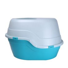 Hot Sale Cheap Plastic Pet Products Cat Litter Box Toilet for Cats