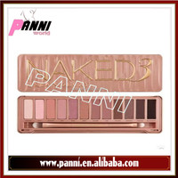 New NAKE 3 Professional NK3 Makeup Glitter Eyeshadow Palette 12 Colors Brand Eye Shadow with brush Set