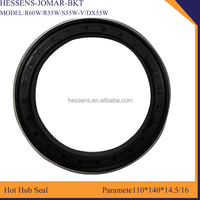 Round oil seal cross reference