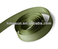 "2""wide Olive Drab Green Polyester Grosgrain Ribbon for Garden Yard&Fence"
