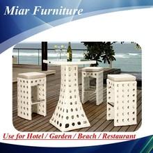 Lámpara de muebles bar stool set rattan bar stool proveedor 405015