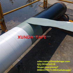 polyethylene butyl rubber adhesive tape wrapping for underground pipes