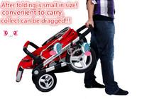 100% отличное качество низкие цены! Детские коляски 3 в 1 сделано в Китае 3 в 1 коляски воздуха колеса коляски