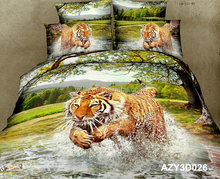 100% cotton cheap american size bed sheet set luxury wedding duvet cover made in china bedding set 3d printed