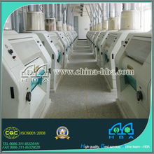 Full Automatic Complete Set flour mill machine wheat small scale industries machines