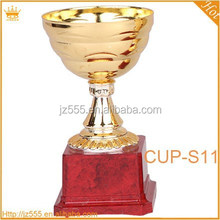 Customized Plating Metal sports student soccer trophy