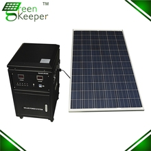 Affordable CHL solar electricity generating system for villa