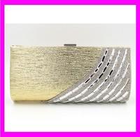 JD1036 New latest design fashion hard case ladies clutch evening bag