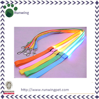 Eco-friendly Custom Led Flash Dog Leash