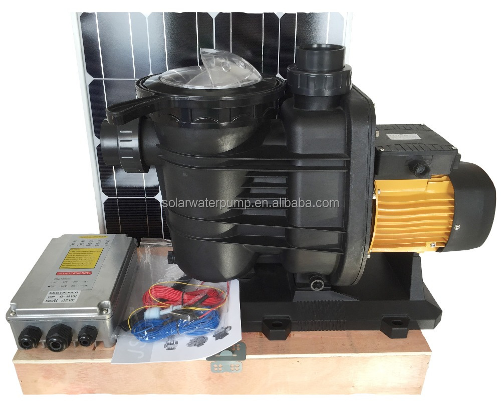 dc solar water pump systems with brushless dc motor for
