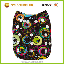 Newest Design of Great Quality Reusable Free Shipping Baby Cloth Diaper