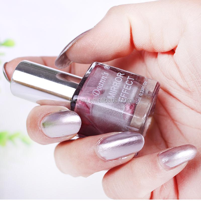 Hot vente m tallis vernis ongles miroir effet vernis for Vernis a ongle miroir