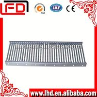 galvanized steel grid bar grating for stair system and staircase