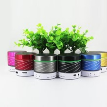 2015 Low Price and Cylinder Mini Stereo Bluetooth Speaker with Microphone