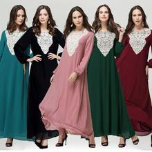 Women latest chiffon design turkish clothes for women Chian abaya turkey Muslim dress