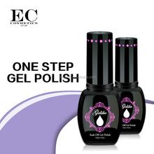 550 colors factory wholesale chameleon nail polish gel, one step gel polish