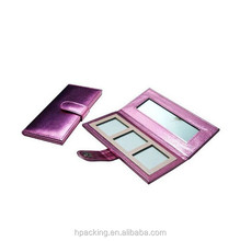 Rosy Color Fashion Jewelry Cosmetic Box Ladies Favor Makeup Bag With Glass