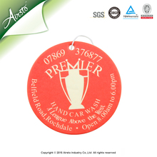 Eco-friendly Wholesale Flavor X Car Air Freshener