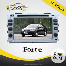OEM ODM Hot Sale Touch Screen Car DVD For Forte 2012 Built In GPS/Bluetooth With Rear-view Camera By Free