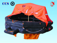 2015 Factory supplied CCS and EC marine rubber life rafts