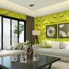 texture naturally waterproof wallpaper building material made in china