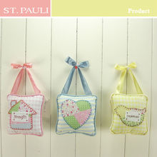 Top quality cotton cloth easter decoration wall ornament