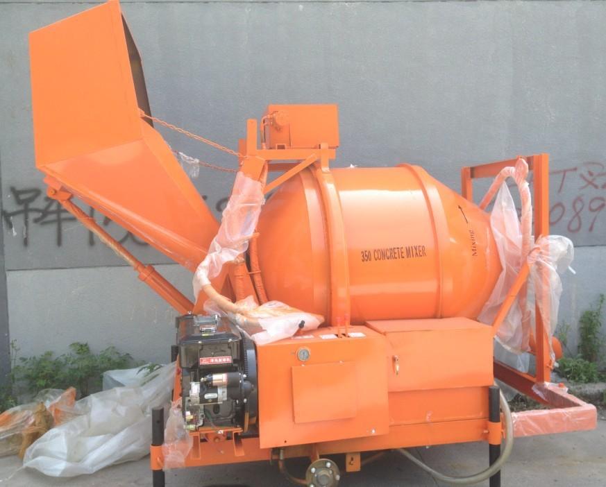 Jzc350 20m3 h diesel engine concrete mixer diesel concrete for Cement mixer motor for sale