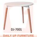 80*80cm local de trabalho chá mesa redonda mesa de café mesa mdf moldura de madeira eames mesa de jantar da família pequena