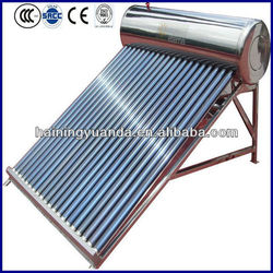 2015 New Product compact non-pressure solar water heater