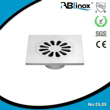 floor drain stainless steel cover/kitchen floor drain