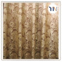 jacquard fabric for window curtain 2015 hot sale