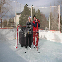 HDPE impact resistant ice rink boards/ mobile ice rink/skating rink floor