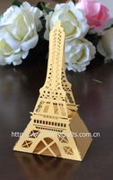 2014 event decor! laser cut candy chocolate box eiffel tower party decorations