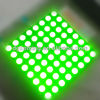 60.2*60.2mm green led dot matrix display 8*8