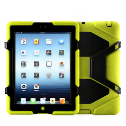 Clear silicon drop desistance top fancy tablet pc case for ipad 234